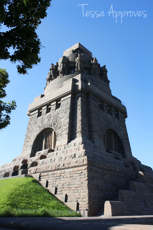 German history on display in Leipzig - Monument to the Battle of the Nations
