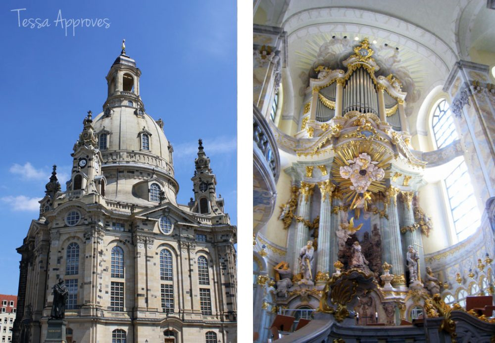 Germany's beautiful architecture on display at Dresden's Frauenkirche