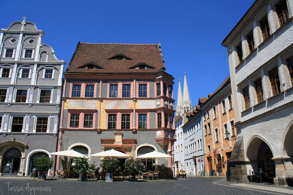 Ratsapotheke on the Untermarkt in Görlitz