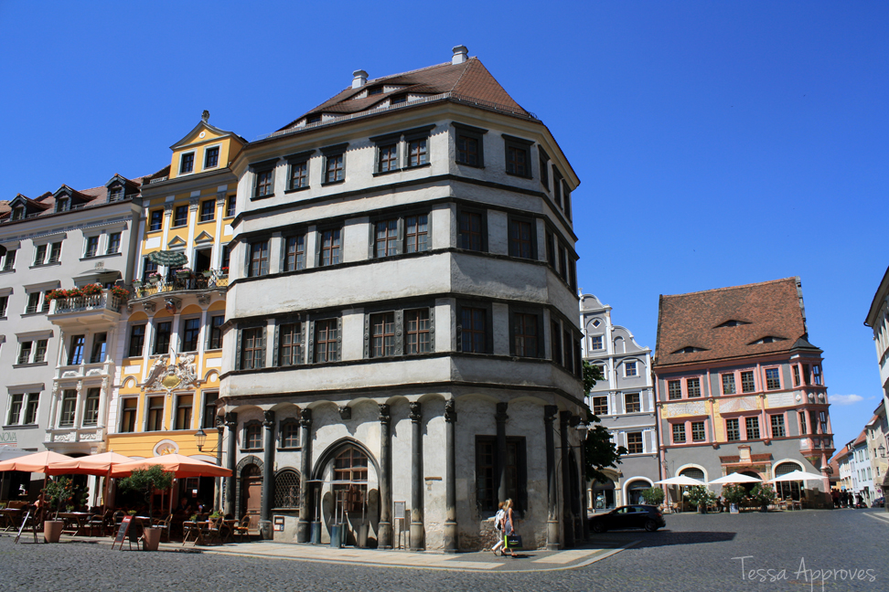 Untermarkt in Görlitz Waage and Ratsapotheke
