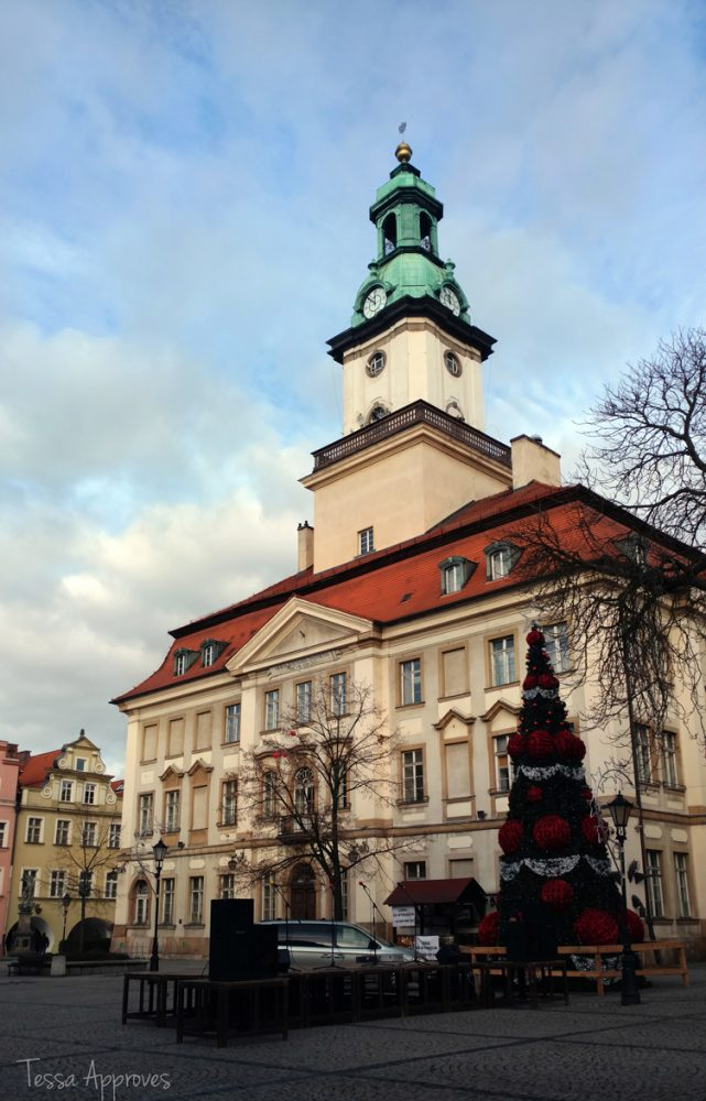 Town Hall historic Jelenia Góra Poland