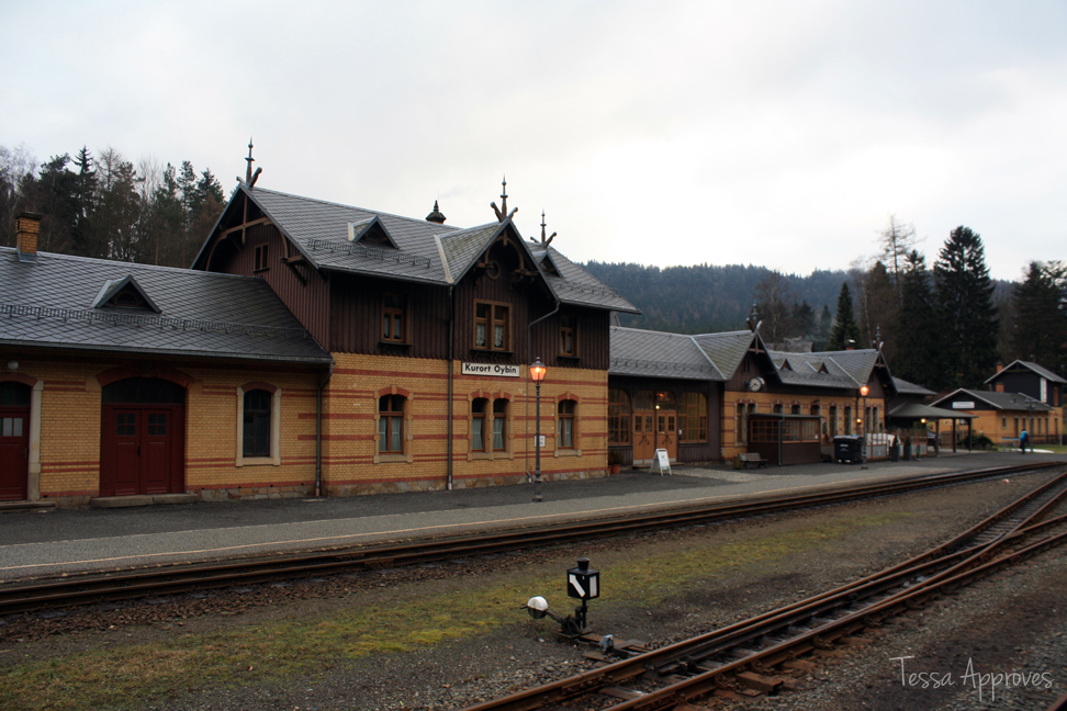oybin germany train station schmalspurbahn