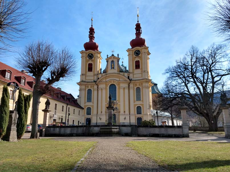 basilica hejnice pilgrimage church